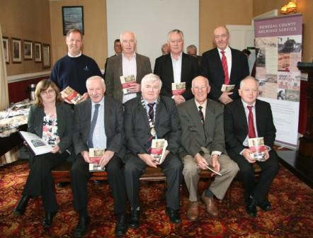 Buncrana Town Council book launch members