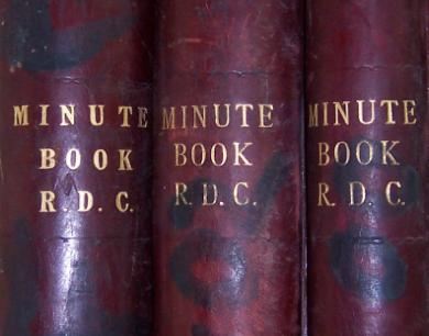 Rural District Council Minute Books