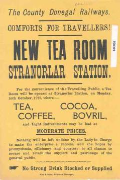 Stranorlar Tea Room Railway