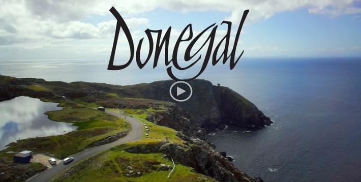 Donegal's Wild Atlantic Way Video. Copyrights Donegal Tourism Ltd