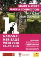 County Donegal Heritage Week Event Guide Cover 2018