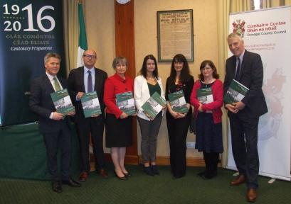 Launch of County Donegal in 1916 History & Heritage Education Pack