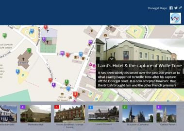 Letterkenny Cathederal Quarter App officially launched.
