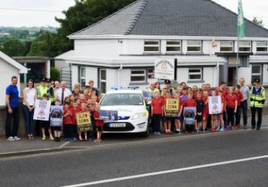 Speed Awareness Campaign in Liscooley