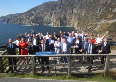 Sliabh Liag visitor centre group