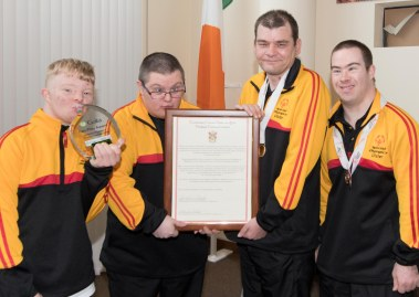 Special Olympics Reception Glenties MD 1