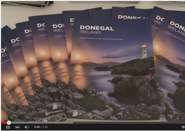 Donegal TV Clip of Donegal Prospectus Launch