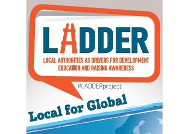 Act Local Think Global LADDER logo