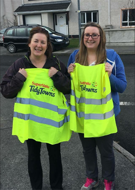 Twin towns clean up