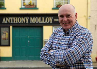 Freedom of Donegal to be bestowed on Anthony Molloy
