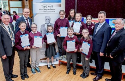 Tip ONeill Schools Competition 2016 winners