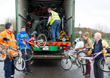 Donegal donates an incredible 300 bicycles to the Bike for Africa Appeal