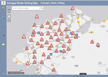 Stay up to date on Gritting Routes and Road Conditions
