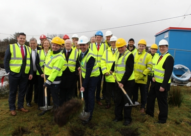 Works commence at new Ardsbeg Water Treatment Plant