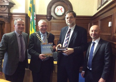 Cathaoirleach welcomes Austrian Ambassador to Donegal
