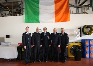 Donegal Firefighters to visit New York