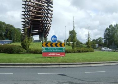 Sponsorship of Roundabouts in Letterkenny