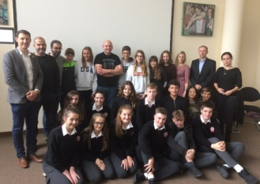 Student Exchange visit to Dungloe