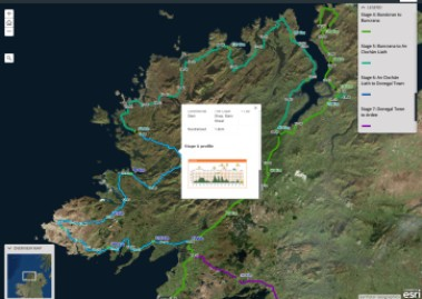 New interactive map for An Rás enthusiasts
