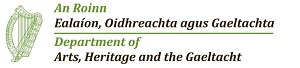 Department of Arts, Heritage & the Gaeltacht Logo