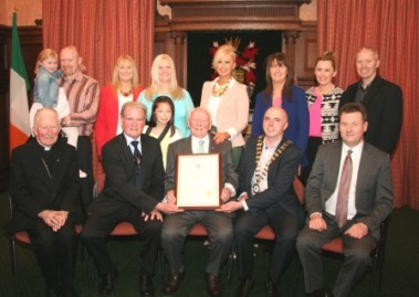 Hugh Gallagher Civic Reception 2