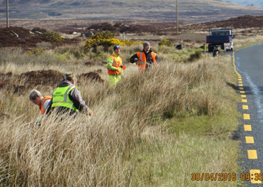 Donneyloop and Mountain Road clean up
