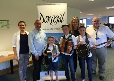 Byrne Brothers to help promote Donegal to global market