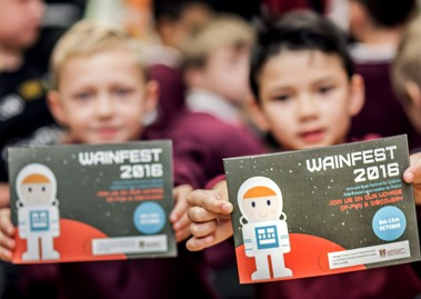 Over 3400 children participated in Wainfest in Donegal in 2016