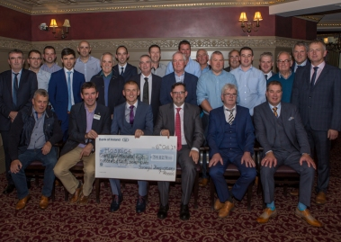 Donegal firefighters raise almost €45,000 for hospices